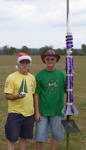 Christmas Rockets